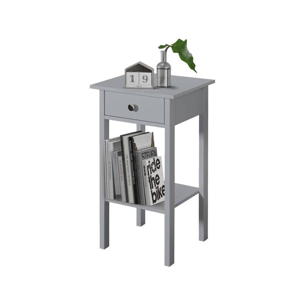 Šedý noční stolek Støraa Tango
