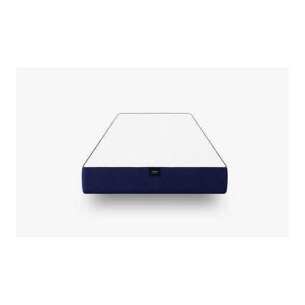 Tmavě modrá pěnová matrace muun Lite, 90 x 200 cm