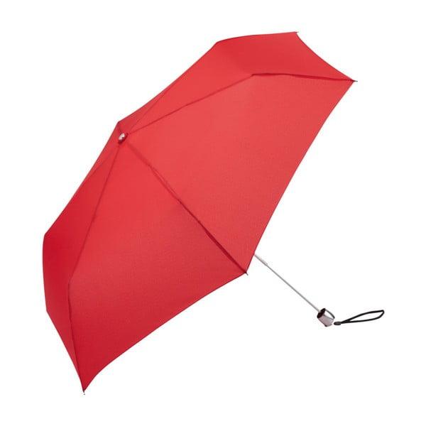 Umbrelă anti-vânt pliabilă Ambiance Tiny, ⌀ 88 cm, roșu