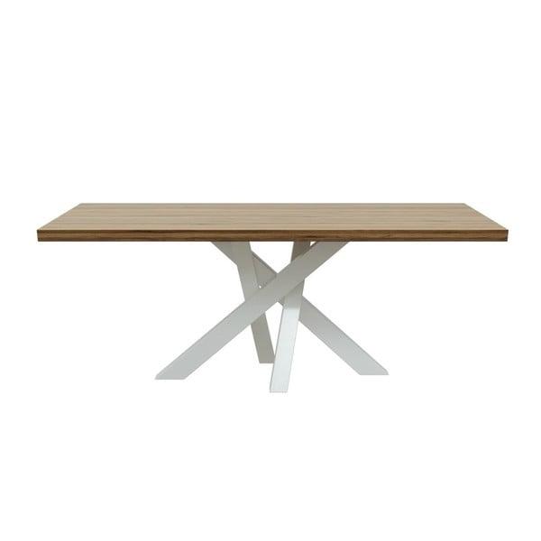 Jedálenský stôl z orechového dreva MESONICA Brook, 100×200 cm