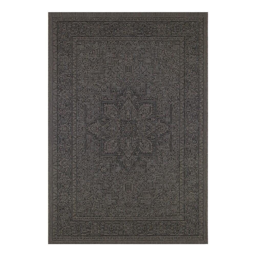 Černo-béžový venkovní koberec Bougari Anjara, 160 x 230 cm