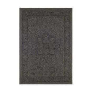 Covor potrivit pentru exterior Bougari Anjara, 200 x 290 cm, bej - negru imagine