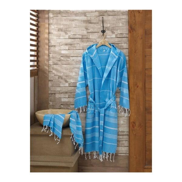 Set županu a ručníku Sultan Blue, vel. S/M