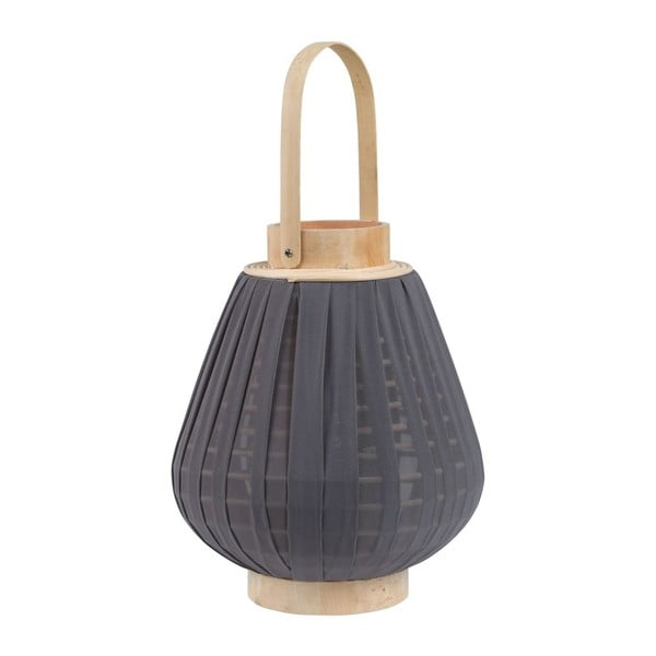 Stolní lampa Lampion Grey, 24,5x40 cm