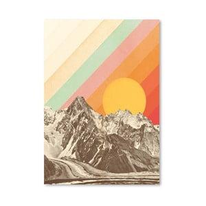 Plakát Americanflat Mountains, 42 x 30 cm