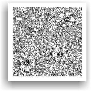 Obraz k vymalování Color It no. 88, 50x50 cm