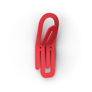 Červený háček Clip
