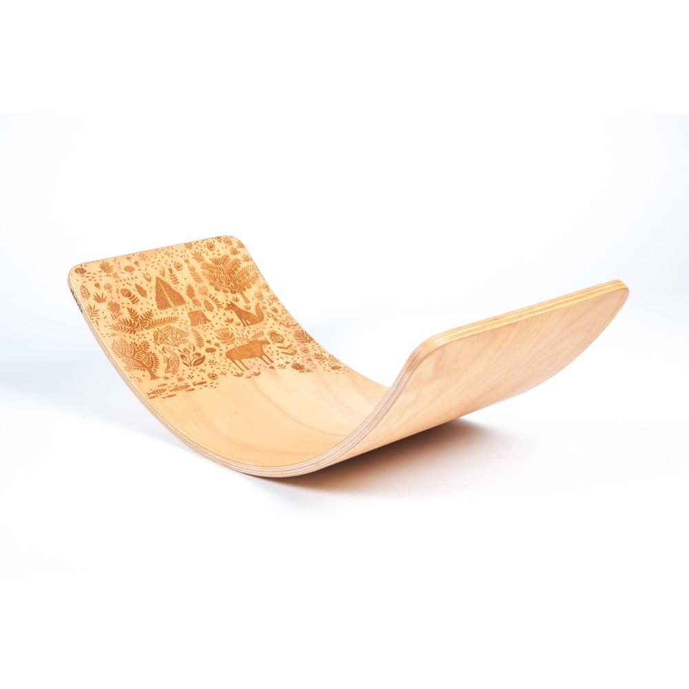 Bukové houpací prkno Utukutu Les, délka82cm