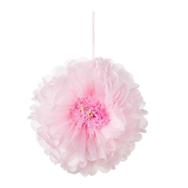 Papírové dekorace Flower Pom Pom, 3 kusy