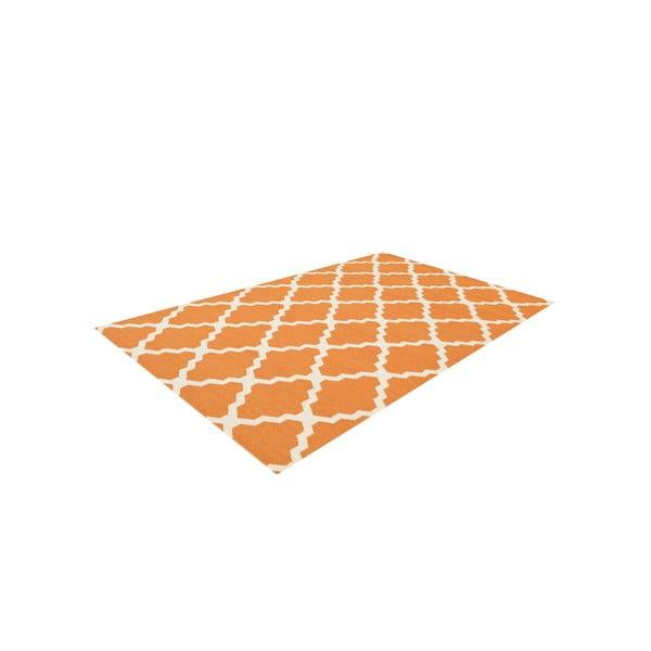 Vlněný koberec Kilim Jasmina Orange, 160x230 cm