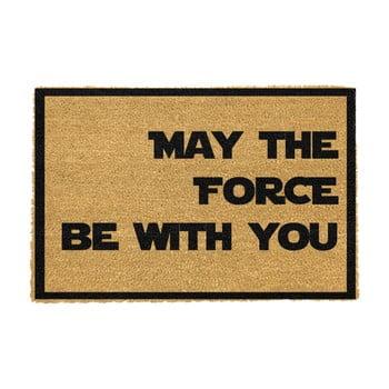 Covoraș intrare din fibre de cocos Artsy Doormats May The Force Be With You, 40 x 60 cm imagine