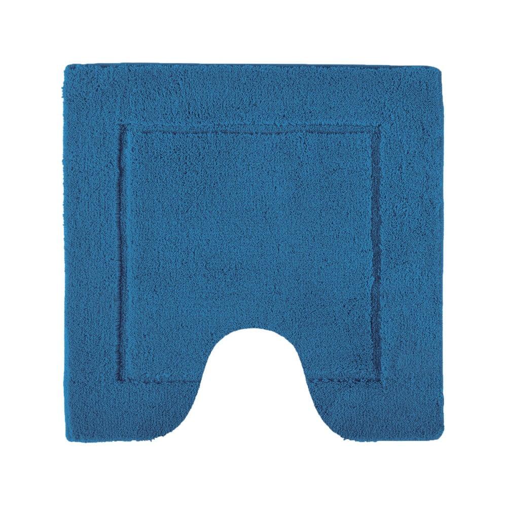 Tmavě modrá toaletní předložka Aquanova Accent, 60 x 60 cm