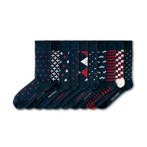 Sada 10 párů ponožek Black&Parker London Gibberd Garden, vel.37-43
