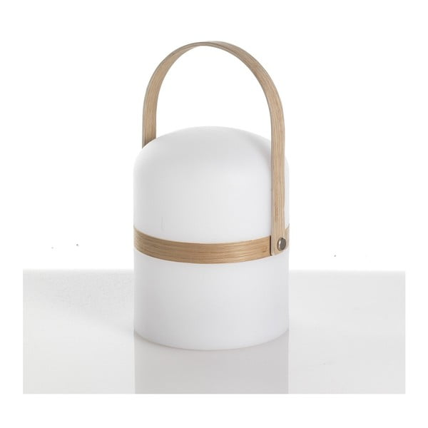 Biela stolová lampa Tomasucci Pol