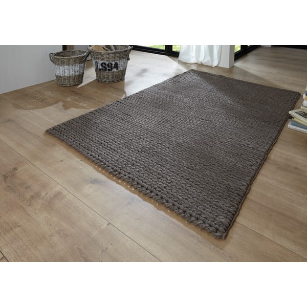Koberec Circolare 170x240 cm, šedý