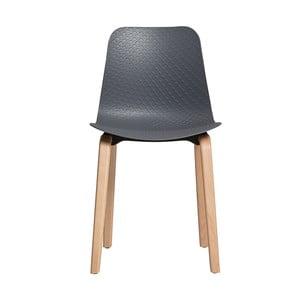 Sada 4 šedých jídelních židlí Marckeric Keira
