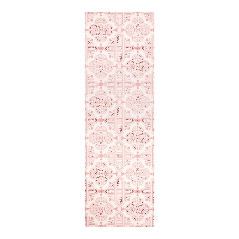 Růžový kuchyňský běhoun Zala Living Cook and Clean, 45 x 140 cm