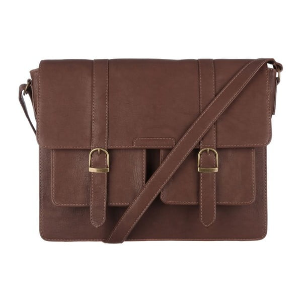 Taška Tommy Satchel Brown