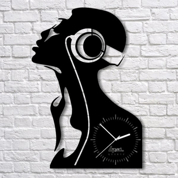 Nástěnné hodiny Music