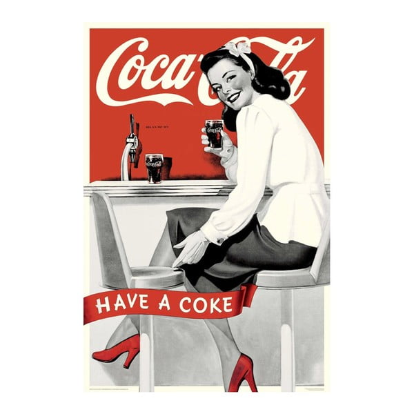 Plakát Have a coke, 61x91 cm