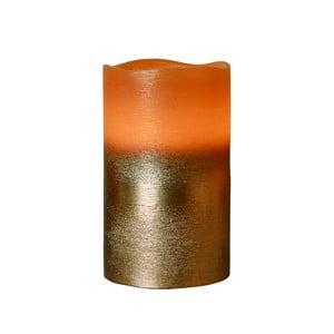 Hnědá LED svíčka Best Season Orange, výška 12,5 cm