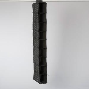 Organizator compartimentat suspendat Compactor Garment Black 9 Rack