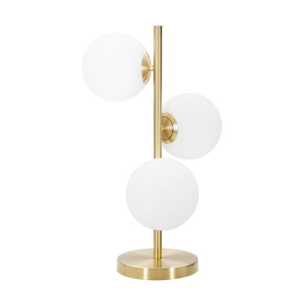 Stolní lampa ve zlaté barvě MauroFerrettiGlamy 3 Luci