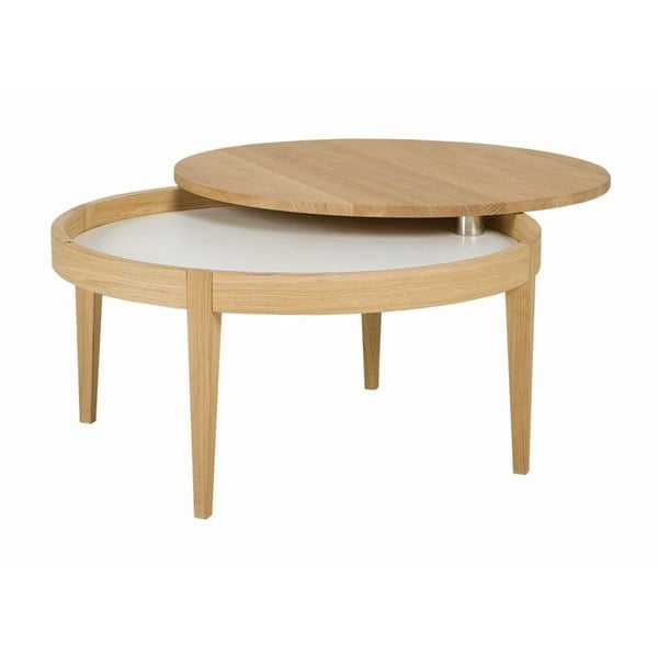 Odkládací stolek Secret Oak, 80x40 cm