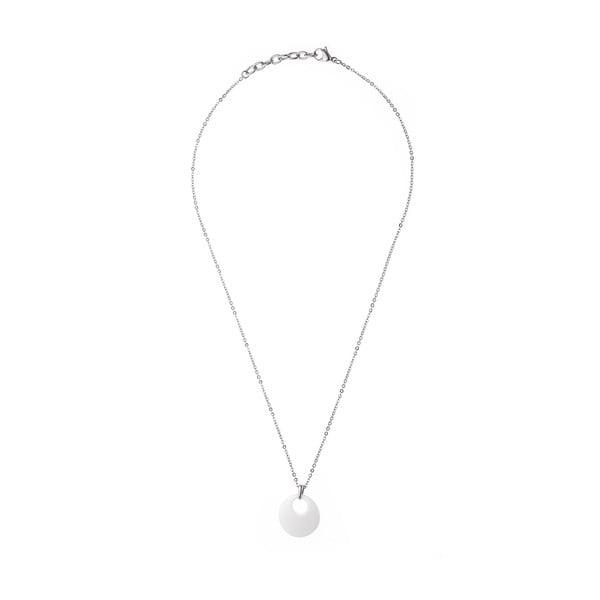Sada náhrdelníku a náušnic Chain Pure White