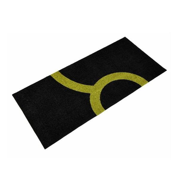 Univerzální rohožka Leone Lime/Black, 150x70 cm