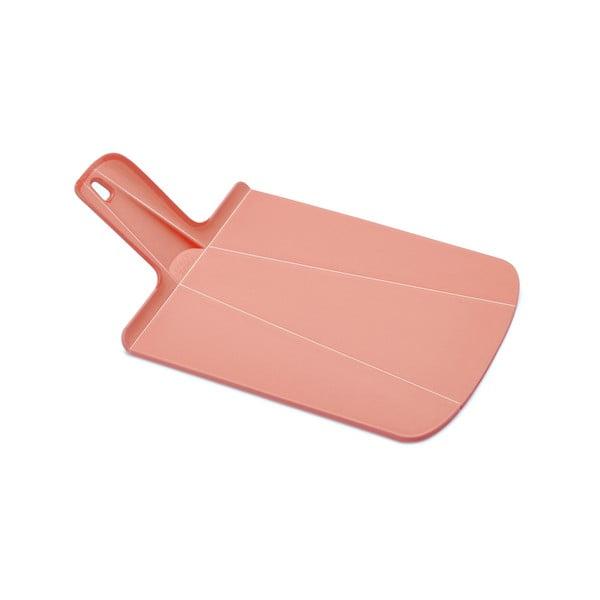 Chop2Pot rózsaszín hajtogatható vágódeszka - Joseph Joseph