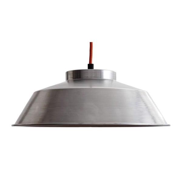 Stropní svítidlo Industrial Stahl/Red