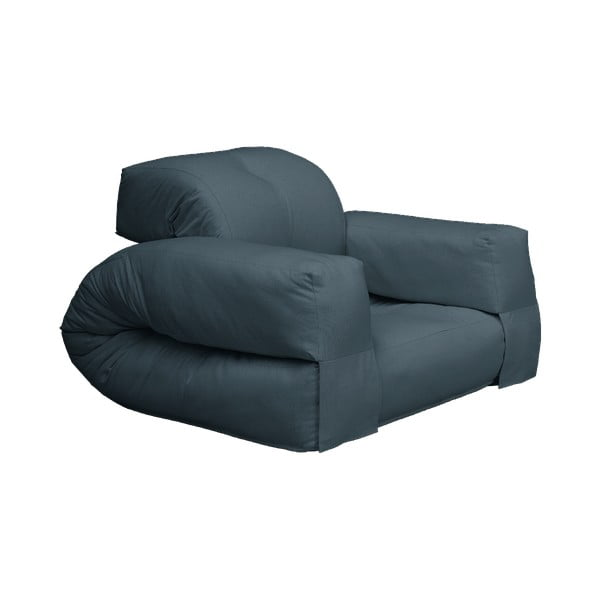 Hippo Petrol Blue kék kinyitható fotel - Karup Design