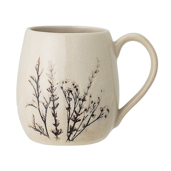 Cană din gresie ceramică Bloomingville Bea
