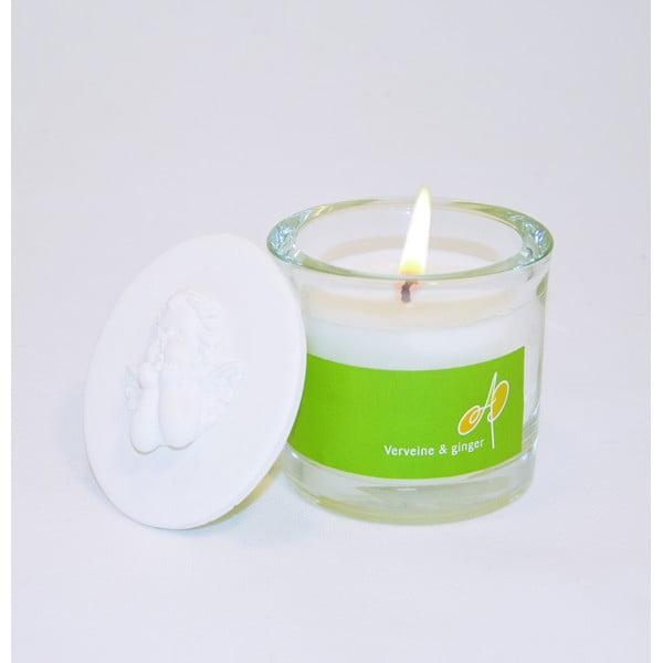 Aromatická svíčka THD Fragnances, verbena a zázvor