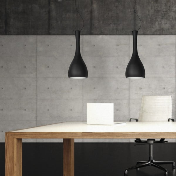 Světlo ITTEKI Elementary black matte/transparent/white