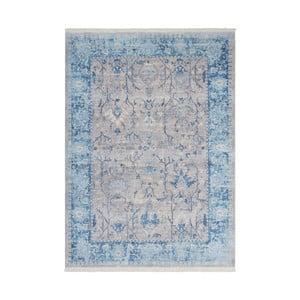 Modro-šedý koberec Kayoom Freely, 160 x 230 cm