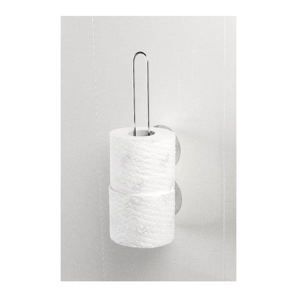 Samodržící nástěnný stojan na toaletní papíry Wenko Static-Loc