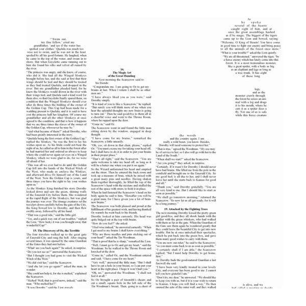 Knižní plakát Čaroděj ze země Oz/Title, 50x70 cm