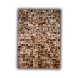 Koberec z pravé kůže Blesbok, 140x200 cm