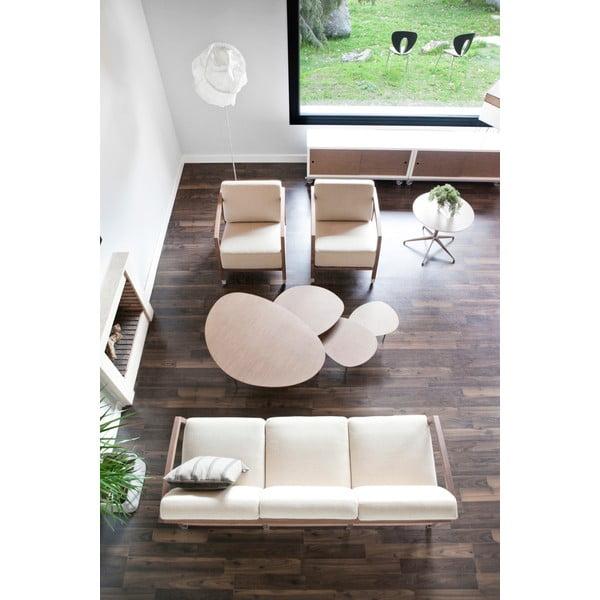 Konferenční stolek Eclipse Large, bílý