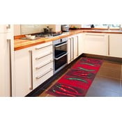 Covor foarte rezistent pentru bucătărie Webtapetti Peperoncini, 60x220cm