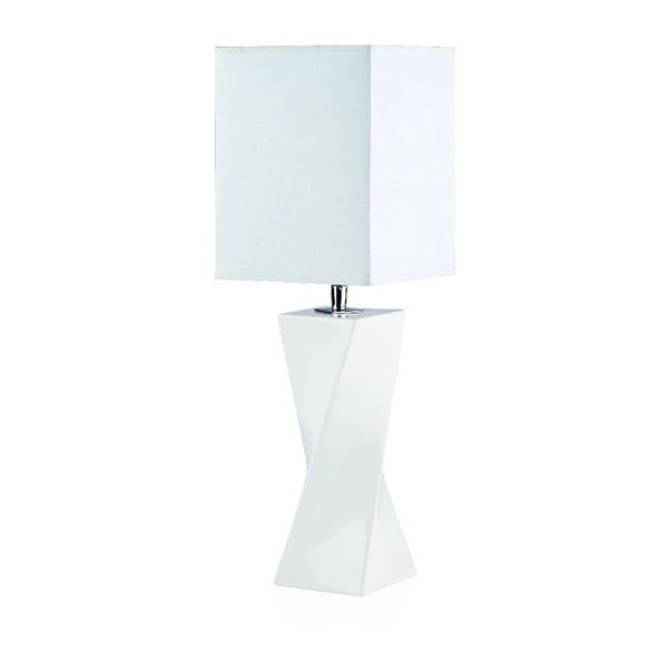 Stolní lampa Twiss, bílá