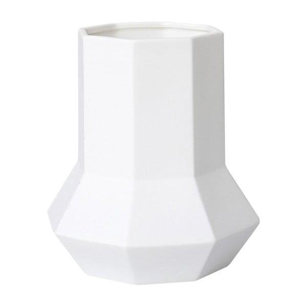 Keramická váza Geometric White