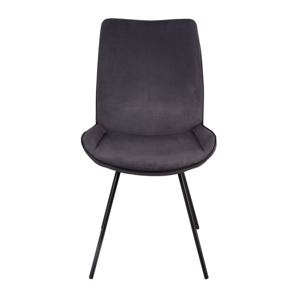 Sada 2 tmavě šedých židlí sømcasa Norma