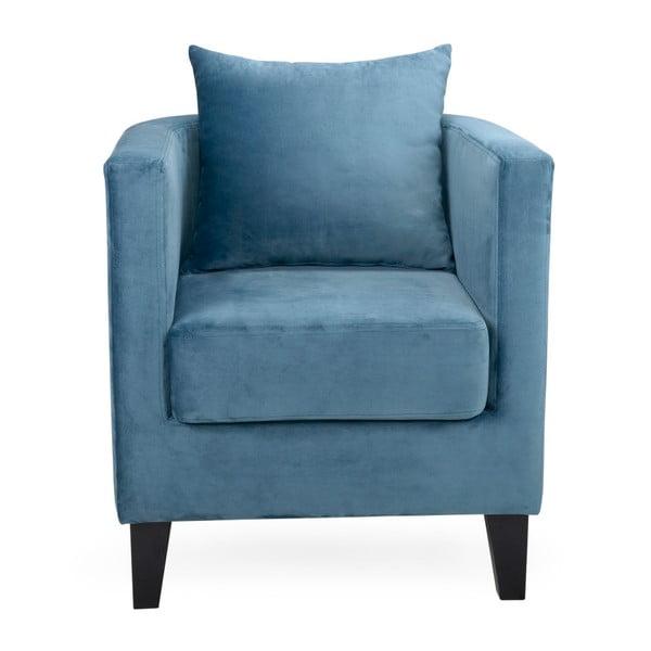 Tmavě modré křeslo Softnord Howard