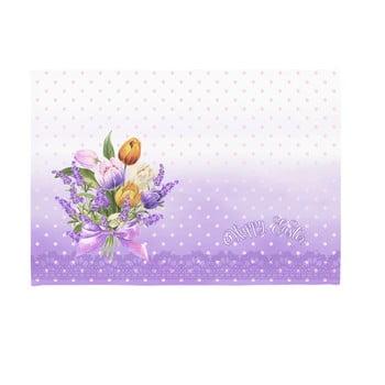 Set 2 suporturi pentru farfurie Apolena Easter Puget Decorative, 33 x 45 cm de la Apolena