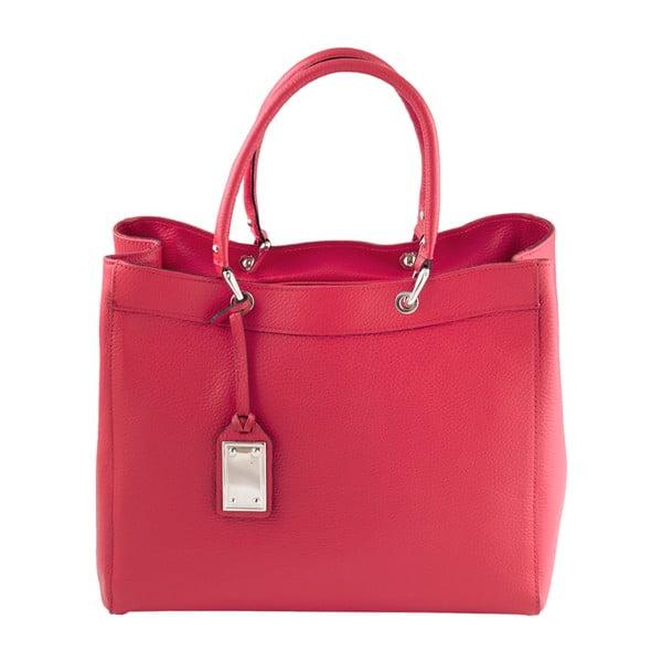 Kožená kabelka Andrea Cardone 939 Red