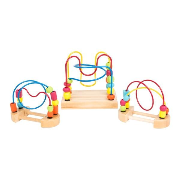 Sada 3 hraček pro rozvoj motoriky Legler Loop