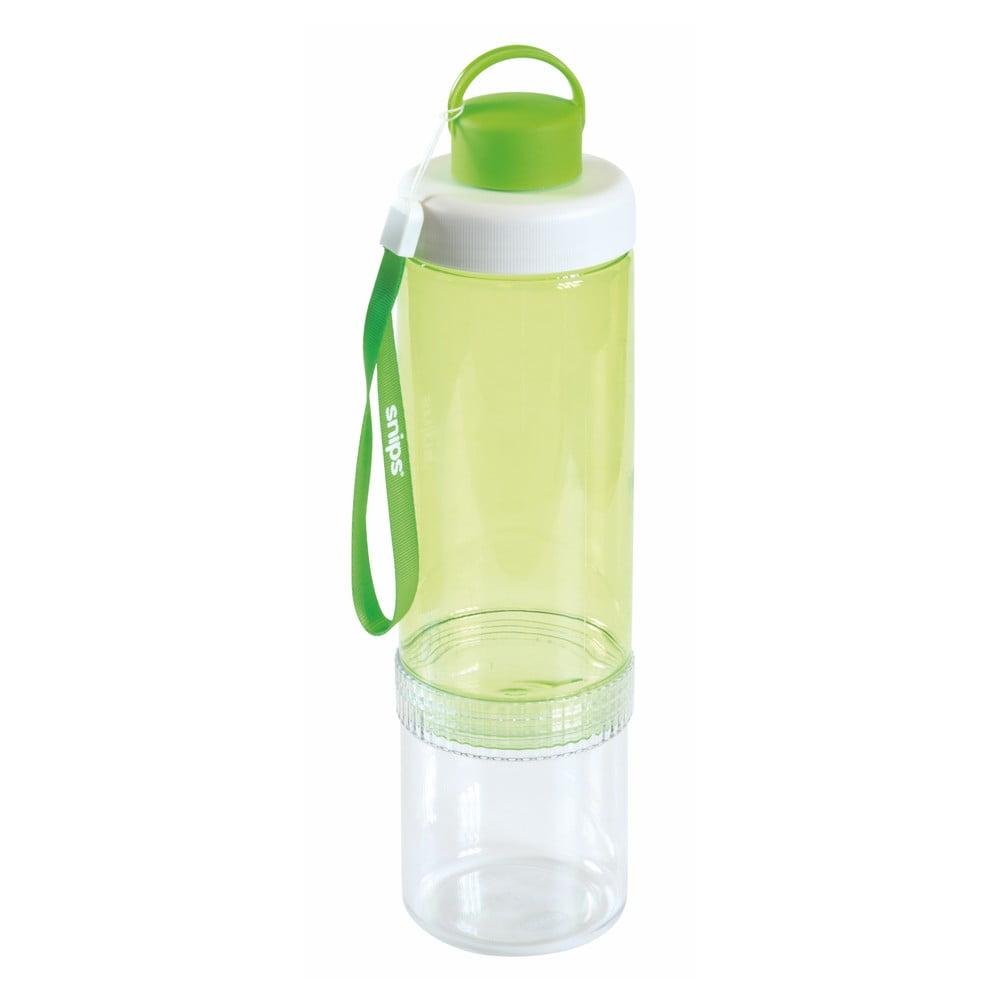 Zelená lahev na vodu Snips Eat&Drink, 750 ml